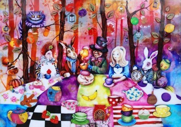 Artist: Kerry Darlington - Mad Hatters Tea Party